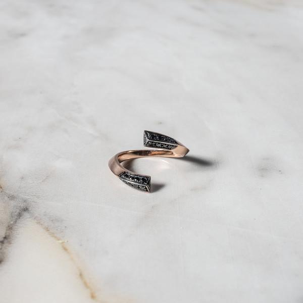 Silen Kent Pave Ring