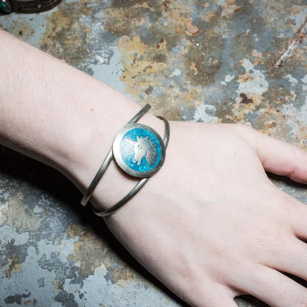 Unicorn Turquoise Bracelet