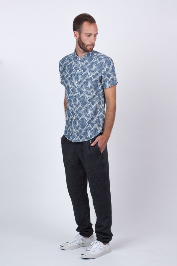Men's YMC Chambray Astro Star Shirt