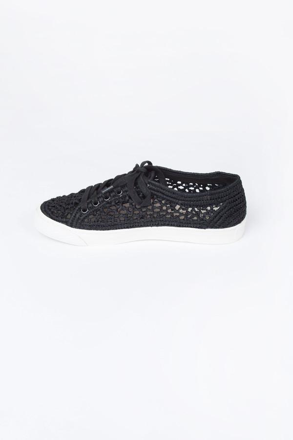 Loeffler Randall Cora Woven Sneaker