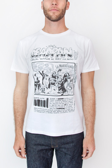 Men's Commune de Paris Deadpan Tee