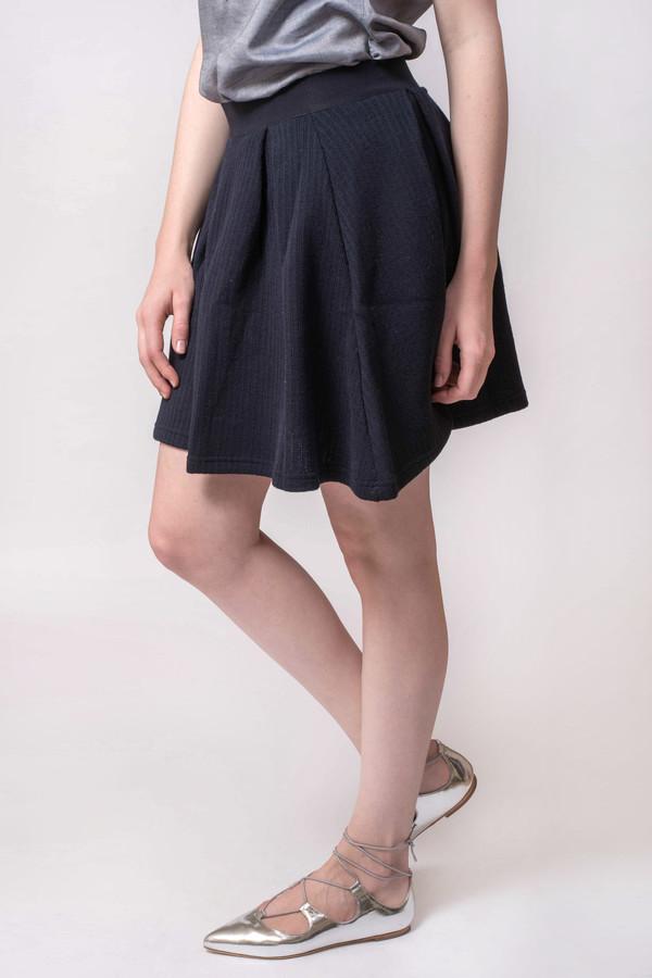 Maison Kitsune Fancy Rib Ballerina Skirt