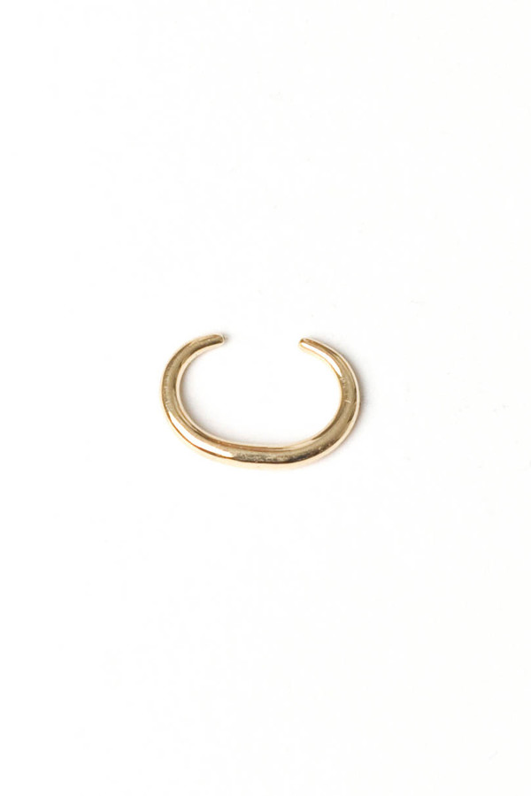 Infinite Tusk Reloaded Ear Cuff 14K Yellow Gold