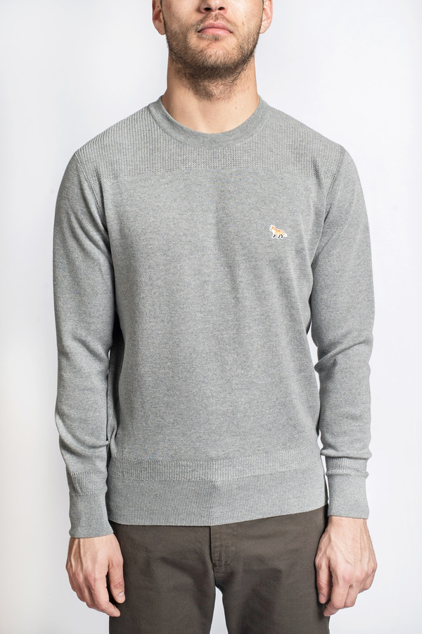 Men's Maison Kitsune Merinos Fancy Pullover