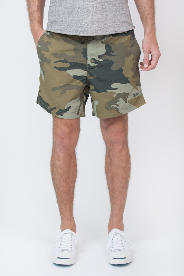 Men's Woolrich John Rich & Bros Printed Army Board Short