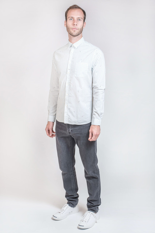 Men's Commune de Paris Rossel Button Down Shirt