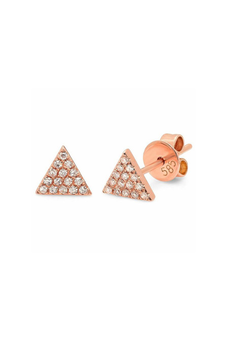 Sachi Jewelry Small Triangle Studs
