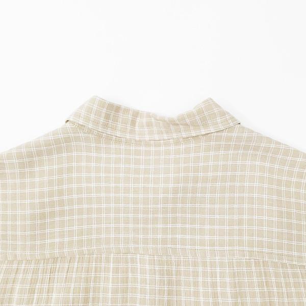 Johan Vintage Collared Grid Shirt