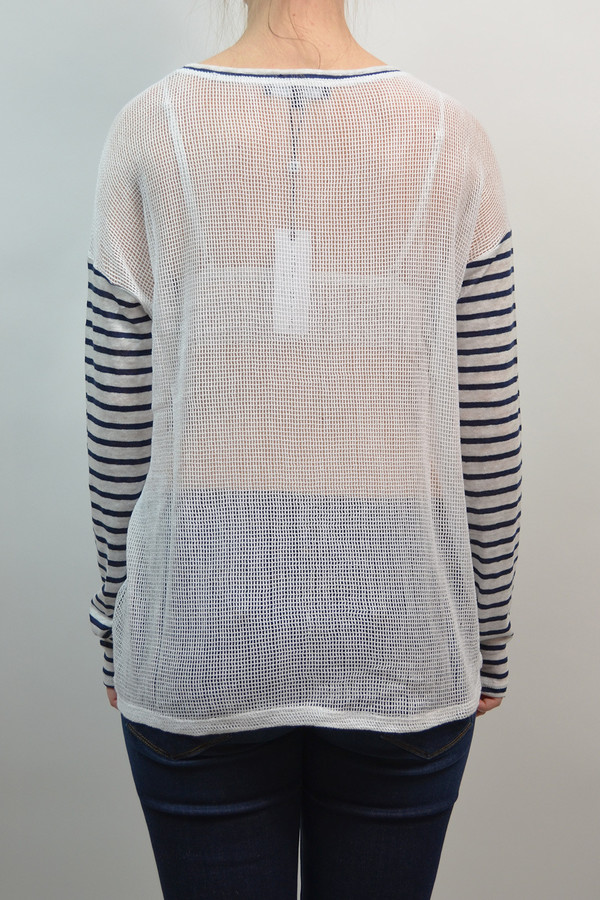 Generation Love Nelly Mesh Back Top