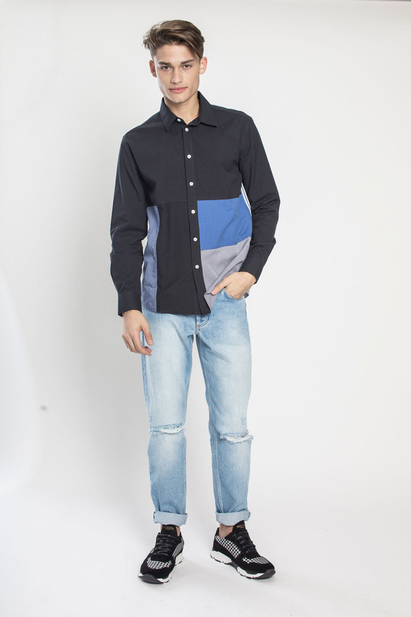 Men's SOULLAND Miller Shirt in Multi