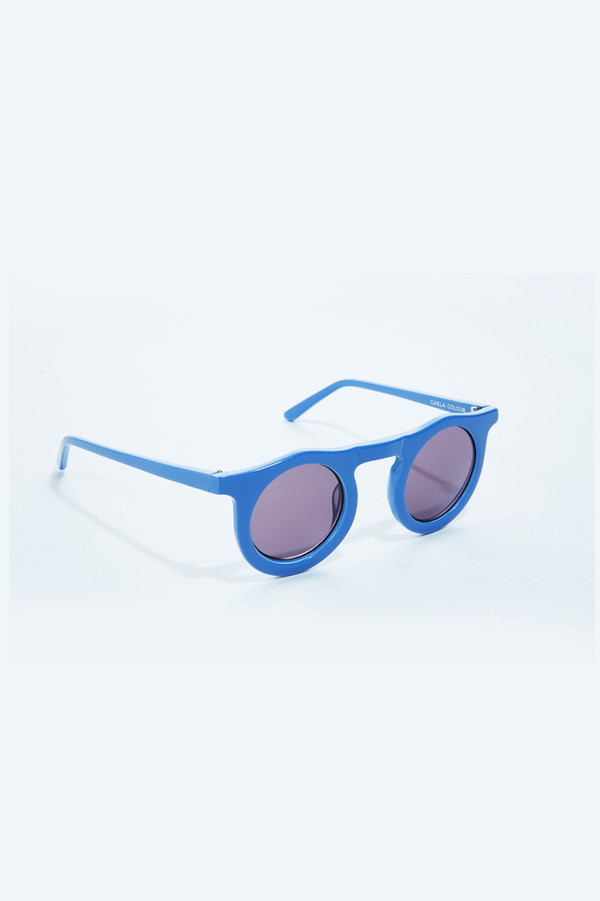 Carla Colour Ovablueku Sunglasses in Nightshade