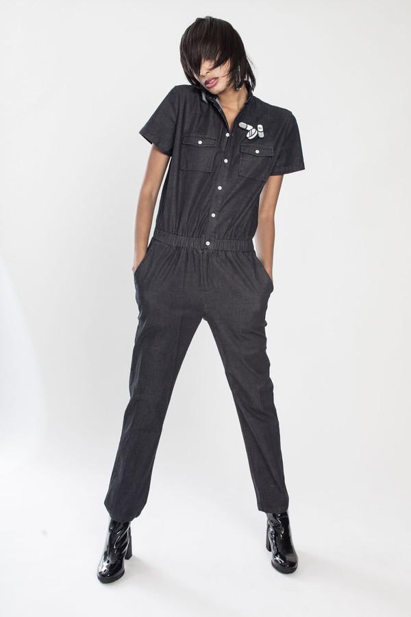 Unisex Standard Issue jumper in Black