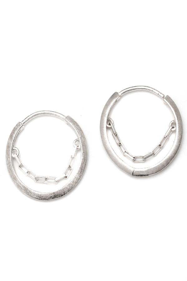 REBEKKA REBEKKA The Lucky Wheel Earrings in Sterling Silver