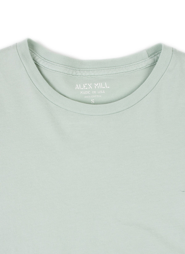 Men's Alex Mill Simple Tee Stone Green