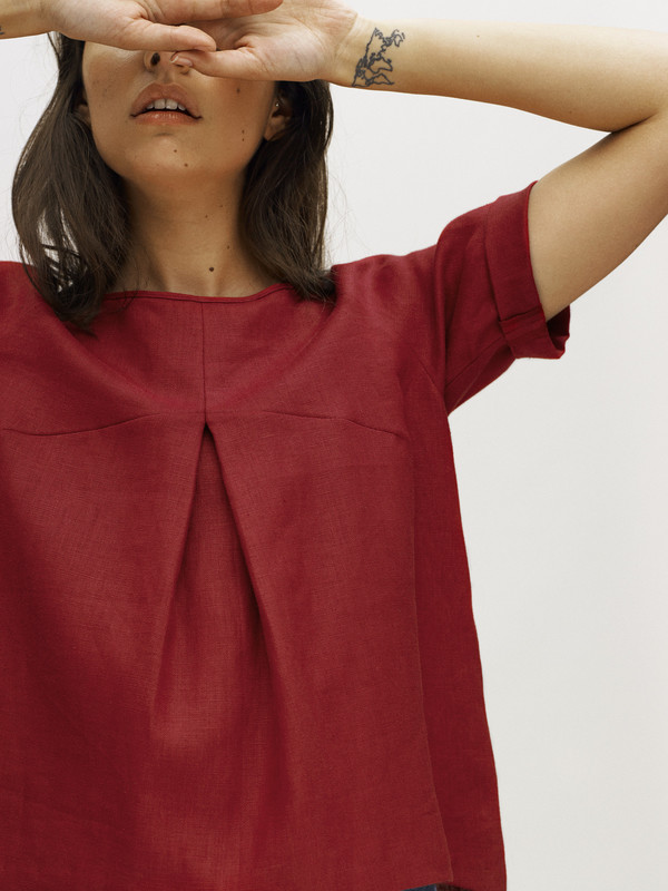 Eliza Faulkner Designs Vee Top