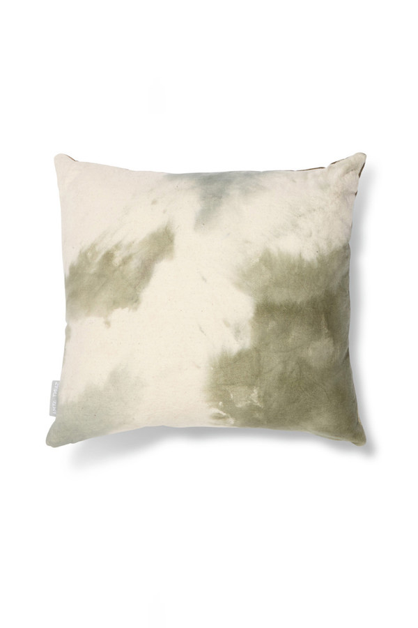 Saint Atma Raw Mint Denim Pillow