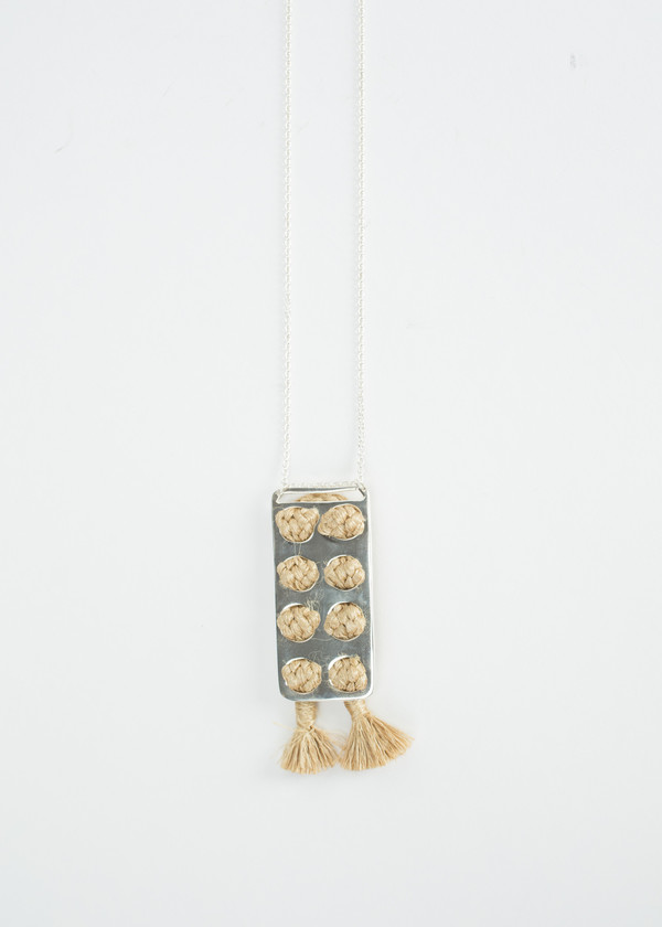 Erin Considine 4X2 Plank Necklace
