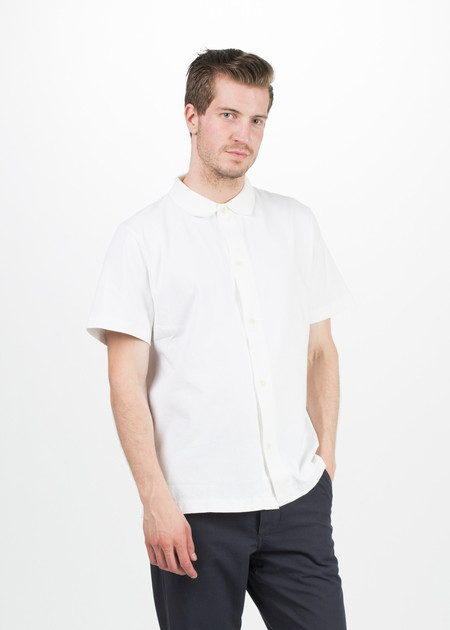 Men's MHL by Margaret Howell Airtex Polo Shirt
