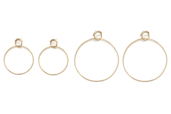Seaworthy Obliquity Hoops Small