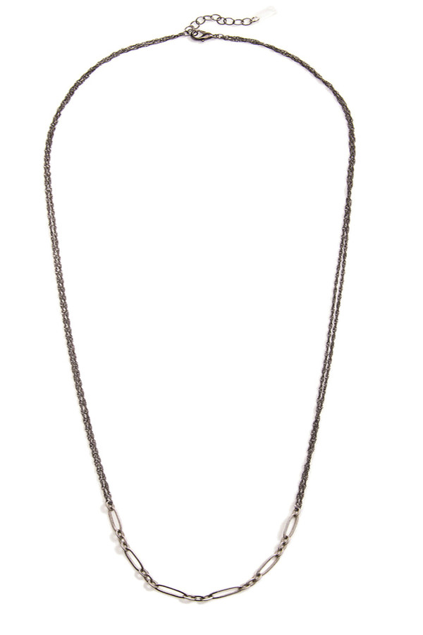 Grayling Tangier Necklace in Gunmetal