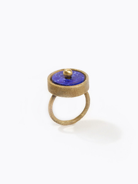 Metalepsis Projects Disc Ring Blue