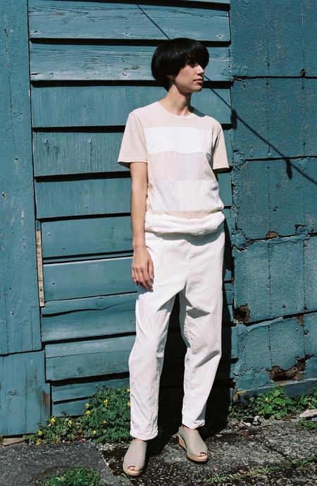 Correll Correll Combo Square T-Shirt - natural