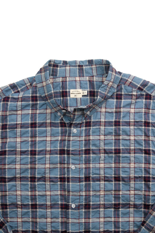 Bridge & Burn Fulton Blue Plaid