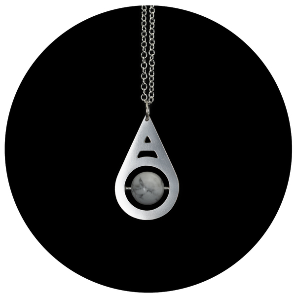 Wasted Effort PENDULUM NECKLACE