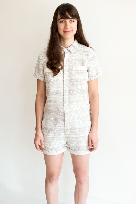 Megan Playsuit - LITTLE WHITE LIES
