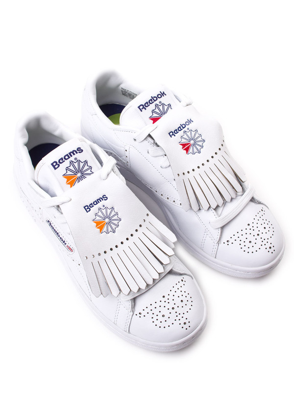 Men's Reebok Classic x Beams NPC UK White