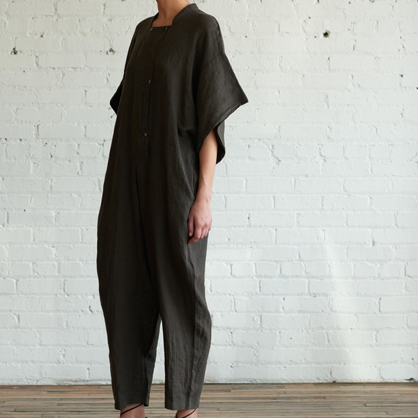 Black Crane Jumpsuit