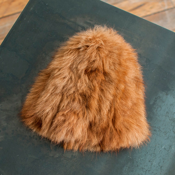 Rachel Comey Fur Beanie Camel - SOLD OUT