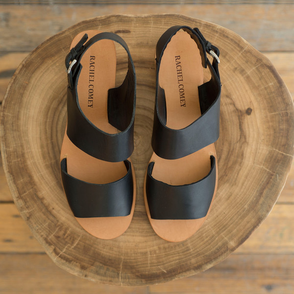 Rachel Comey Tulip Sandal Polished Black