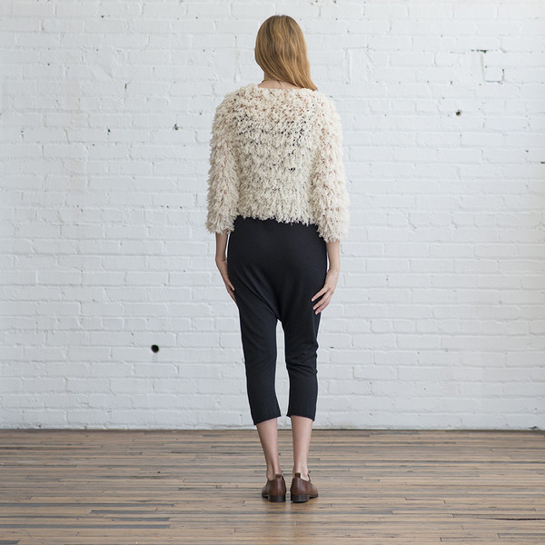 Ryan Roche Shag Cardigan - SOLD OUT