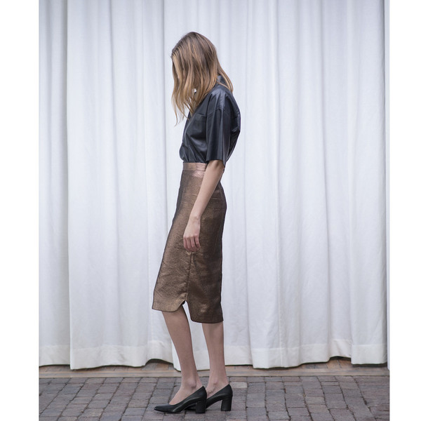 Schai Uti Midi Skirt Copper - SOLD OUT