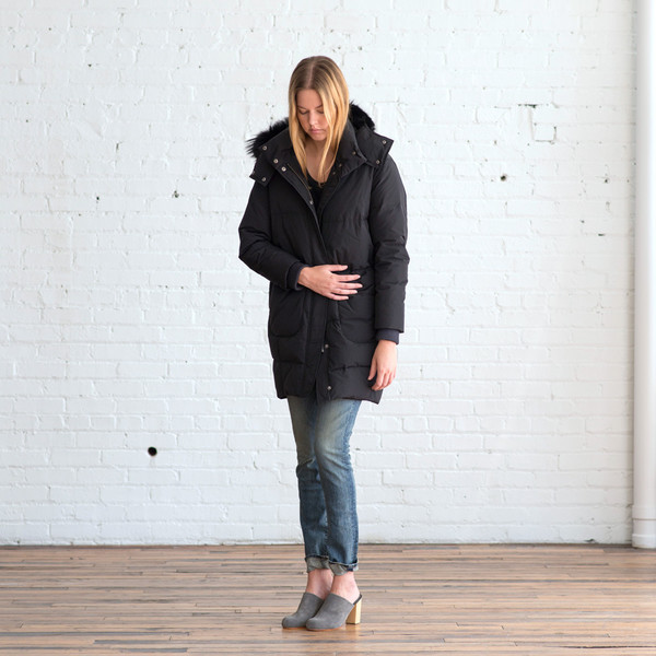 Tess Giberson Down Cocoon Parka