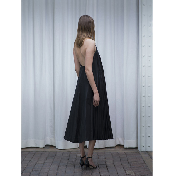 Tome Taffeta Pleated Dress - SOLD OUT