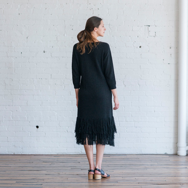 Ulla Johnson Carissa Fringe Dress