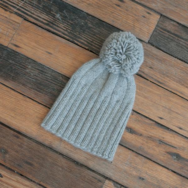 Ulla Johnson Pom Pom Hat Dove Grey - SOLD OUT