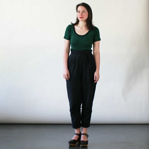 Curator Clove Pants in Black