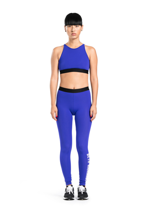 BETH RICHARDS Masi Legging - Berry BASIC LEGGING WITH LOGO ELASTIC AND HIGH DENSITY STRETCH LOGO ON LEFT LEG
