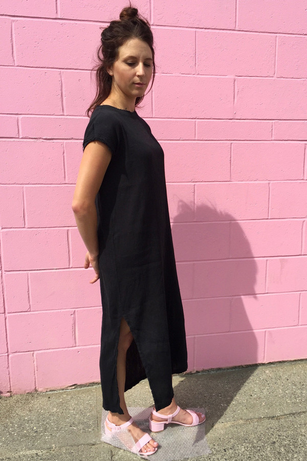 BLACK CRANE EMMA DRESS
