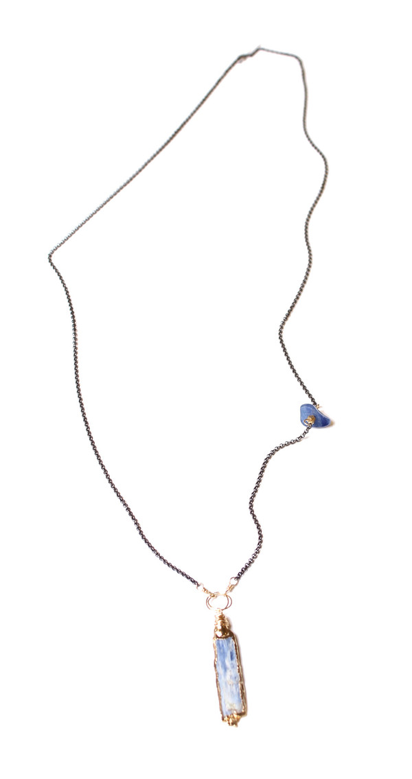 Bloom Kyanite Long Necklace