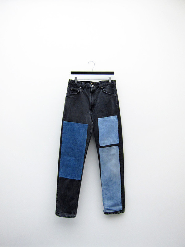 B Sides No. 16 Vintage Levi's 505, Faded Black