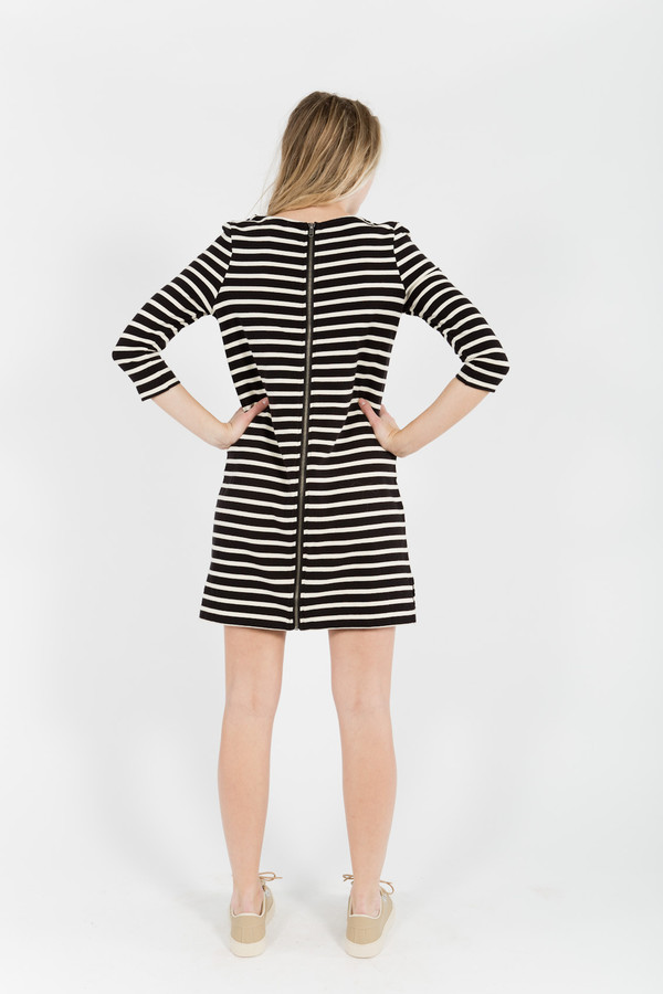 You Must Create Breton Stripe Dress