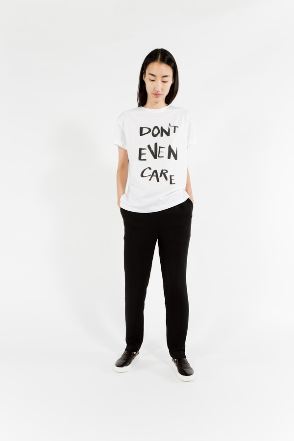 être cécile Don't Even Care Oversize T-Shirt