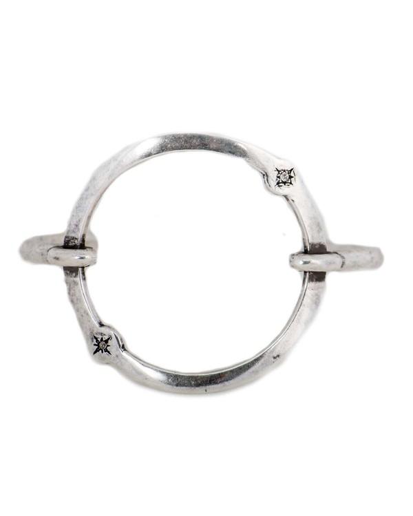 Pamela Love Orbit Cuff - Antique Silver