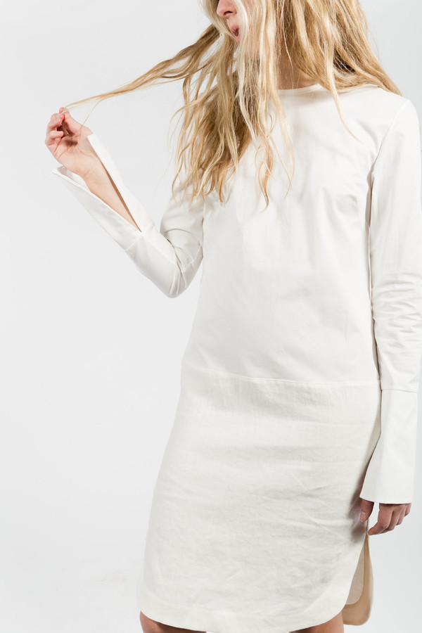 Nomia Long Sleeve Shirtdress