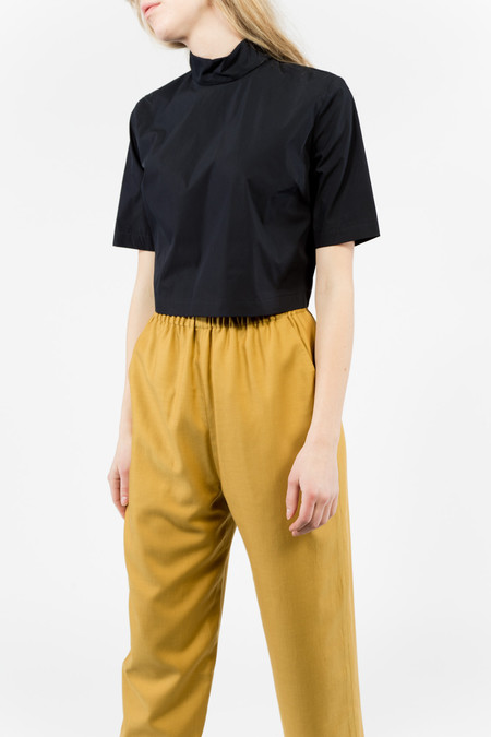 Suzanne Rae Mock Neck S/S Shirt