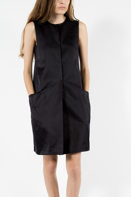 Trademark Satin Pocket Dress